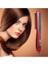 Hair Straightener, NexGadget Professional Detangling Hair Brush Hair Styling Comb Digital Anti Static Anti-Scald Ceramic