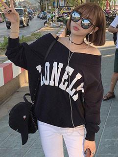 Korean Style Women Long Sleeve Casual Hoodies