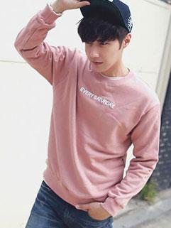 Handsome Men Long Sleeve Pullover Hoodies