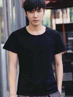 Cheap Korean Side Slit Casual T-Shirt
