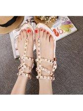 Wholesale Sweet Rivets Leisure Sandal