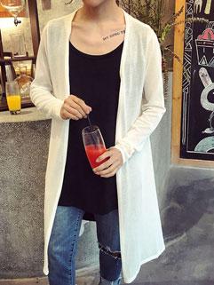 Wholesale Korean Loose V Neck Coats
