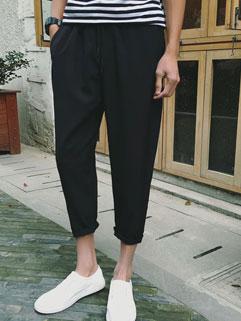 Fashion Style Long Black Pants