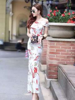 Hot Sale Floral Maxi Dresses