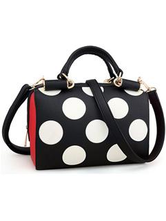 New Arrival Dot Printed Ladies Handbags