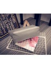 Fashion Korean Weaving Simple Design Totes