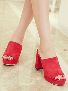Summer Casual Chunky Heel Women Sandal