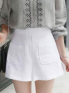 Fashionable High Waist Casual Loose Short Pants