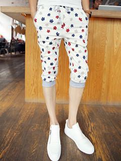 New Arrival Korean Design Printing Harem Pants
