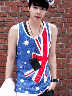 New Arrival  Union Jack Printing  Summer Men Vest