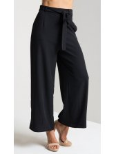 Summer Casual Tie-Wrap Ninth Woman Pants