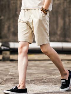 Outlet Solid Lack-up Pocket Beach Short Pants