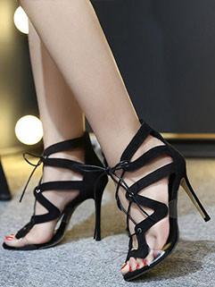 Hot Selling High Heel Bandage Sexy Sandal