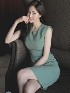 Brief style  Summer Slit Wrap Sleeveless Dress