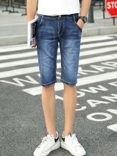 Cheap Wholesale  Summer Fashion Half  Denim Pants