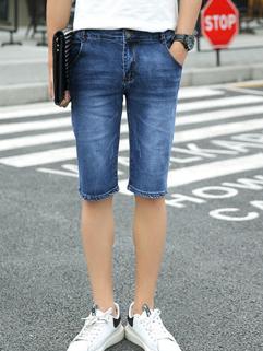 Hot Sale  Summer Fashion Half Men Denim Pants
