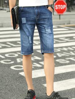 All Match Fashion Men Denim Short  Pants
