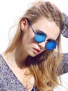 Hot Selling Proof UV Lenses Hexagon Sunglasses