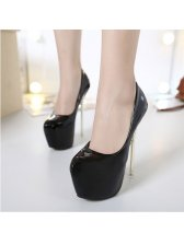 Sexy Look Pointed Toe Super High Heel Night Club Pump