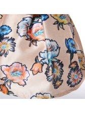 Wholesale Elegant Sleeveless Print Dress