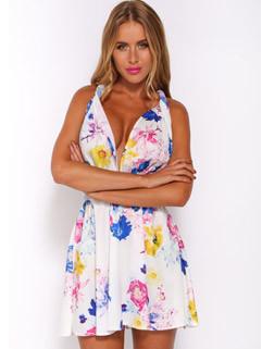 Wholesale Cheap Floral Sexy Dresses