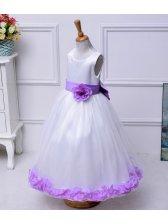 Online Euro Style Sleeveless Flower Girl Dresses