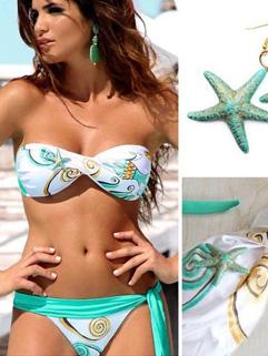 Online Strapless Beachwear Woman Bikini Sets