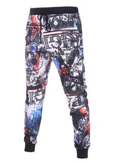 Wholesale Cheap Floral Long Casual Pants