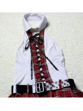 Halloween Popular College Style Bandage Uniform Temptation Lingerie