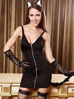 People Buy V Neck Uniform Temptation Fancy Dress