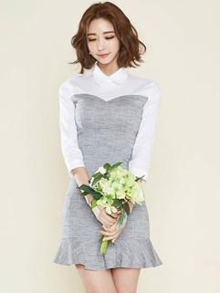 Elegant Fashion Doll Neck Formal Dresses