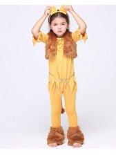 Happy Children Half Sleeve Asymmetrical Halloween Costumes