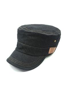Chic Solid Denim Visit Cool Hats