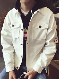 Korean New Solid Long Sleeve Autumn Jacket Coat