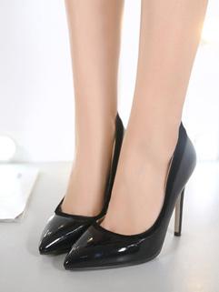 Sexy Style Pointed Toe Slip On Stiletto Heels
