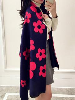 2016 New Autumn Floral Prints Fashion Scarves