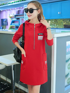 Factory Outlet Autumn Hoodies Casual Dress
