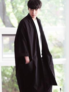 Wholesale Long Sleeve Loose Cardigan Wind Coat