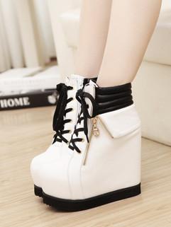 Euro Style Sexy Hidden Heels Women Boots