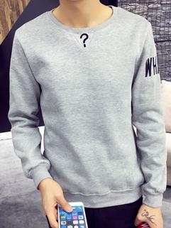 Japan Style Long Sleeve Men Pullover Hoodies