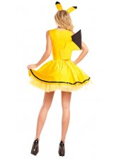 New Cosplay Bee Angel Patchwork Dress Funny Halloween Costumes