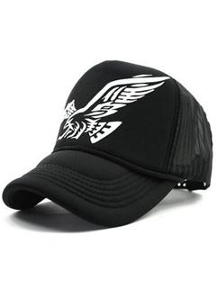 Korean Hip Hop Eagle Print Cool Hats