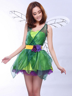 Lovely Fairy Princess Dress Halloween Costumes For Adults