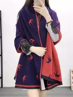 New Fashion Swallow Pattern Winter Scarves
