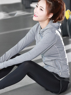 Fashion Yoga Three Pieces Active Wear Women Suits