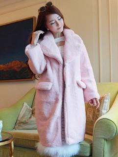 Fashion Turndown Collar Sweet Cardigan Coat
