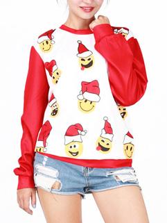 Wholesale Long Sleeve Christmas Sweatshirt
