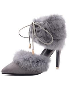 Hot Selling Pointed Toe High Heel Women Sandal Flats