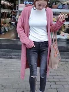 2016 Arrival Women Long Cardigans Sweaters