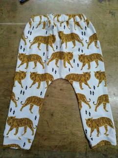 New Arrival Tiger Print Children Harem Pants
